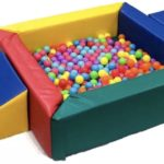 Ball Pond soft play equipment with Steps & Slider