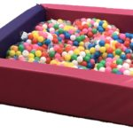 Valley Pink Pop Up Ball Pit Chad 5ftx5ft