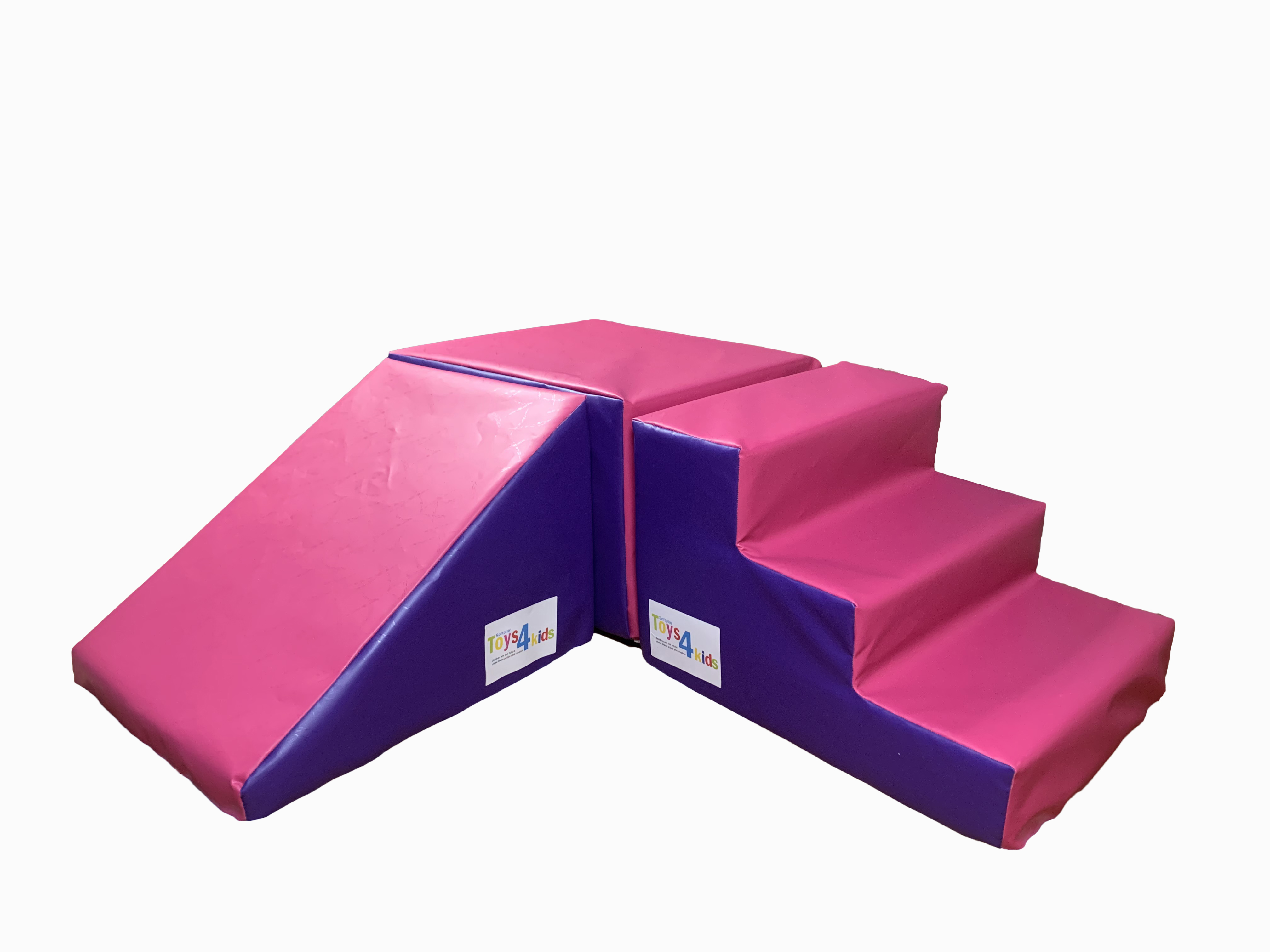 New soft play Step  Slide Cuboid pvc foam toddlers Play set